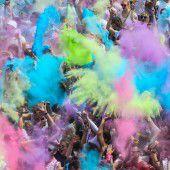 Ein Fest der Farben in Dornbirn