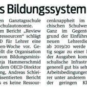 OECD und Bildungssystem
