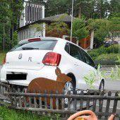 Rückwärts statt in die Parkposition