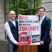 Sozialdemokraten laden zu Kampf gegen TTIP und Co.