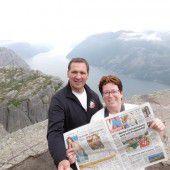 Da schau her! Die VN machen Urlaub in Norwegen