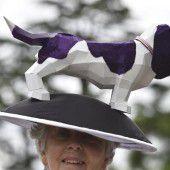 Am Damentag in Ascot werden die Pferde zur Nebensache