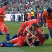 Chile deklassierte Mexiko mit 7:0