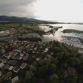 Klein Venedig in Fußach überflutet und evakuiert