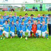 FC Lustenau jubelt über U-14-Landesmeistertitel