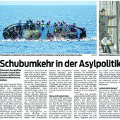 Flüchtlinge und Europa