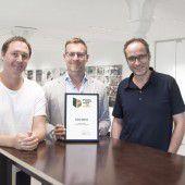 Auszeichnung für Glas Marte und zurgams