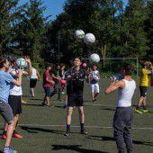 Sport mit Flüchtlingen