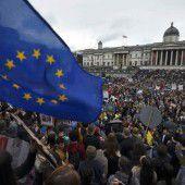 Proteste gegen das Ausscheiden des Vereinigten Königreichs aus der EU