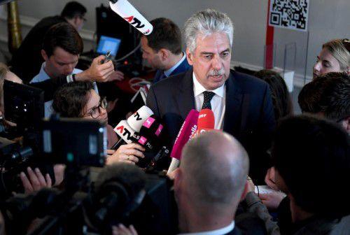 Finanzminister Schelling: Pro Kopf gerechnet hebt der Bund 354 Mal mehr Geld ein als das Land Vorarlberg.
