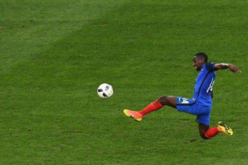 Frankreichs Blaise Matuidi in Aktion. Der Mittelfeldspieler spielt im System von Nationaltrainer Didier Deschamps eine wichtige Rolle.