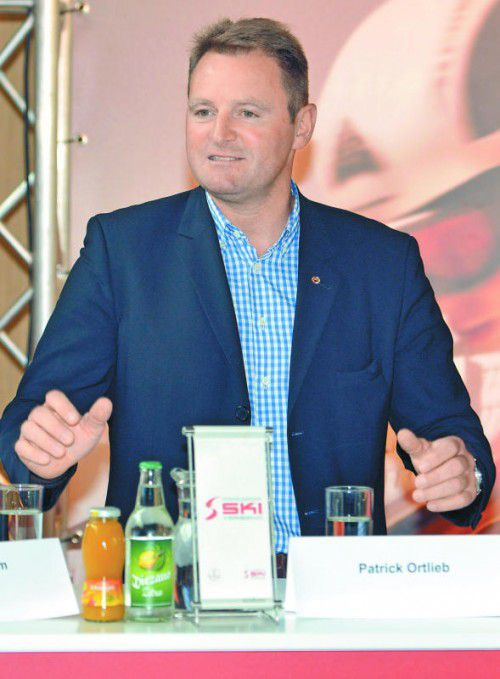 Für drei Jahre weiter im Amt: VSV-Boss Patrick Ortlieb.