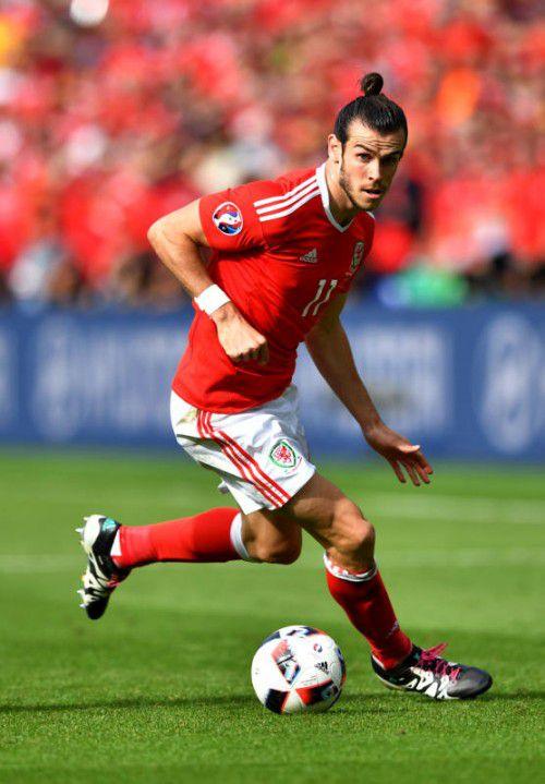Gareth Bale spielt das Turnier seines Lebens. Drei Treffer hat der Star der Waliser bereits erzielt – gegen Belgien könnten weitere dazukommen.