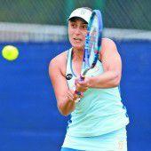 Tamira Paszek in Runde eins ohne Probleme
