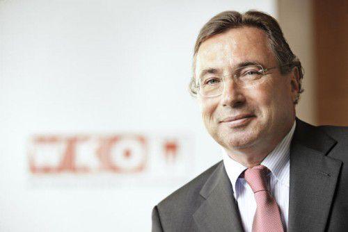 Direktor Helmut Steurer geht Ende des Jahres in den Ruhestand.WKV