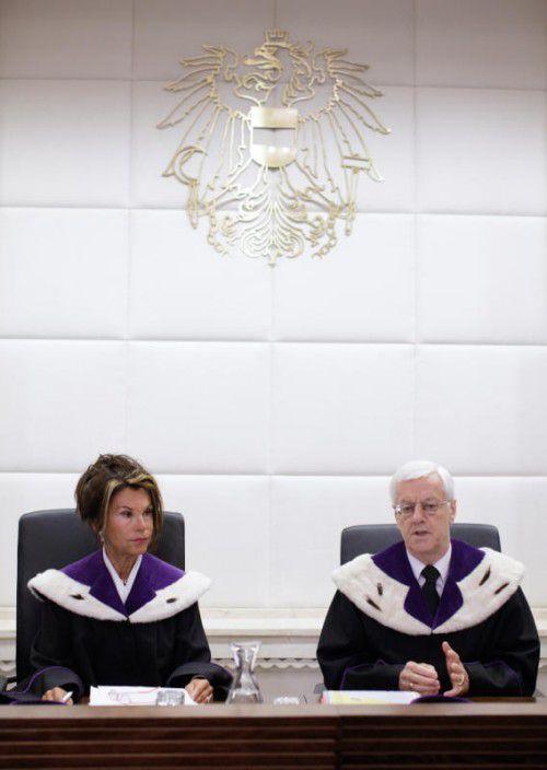 Hofburg-Wahl: Verfassungsrichter starteten in Verhandlungen.