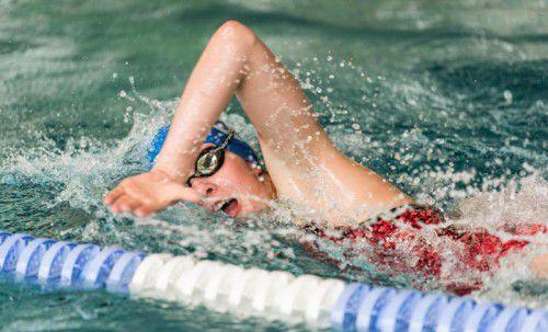 Landesrekordhalterin über 100 m Kraul: Ida Schluge.