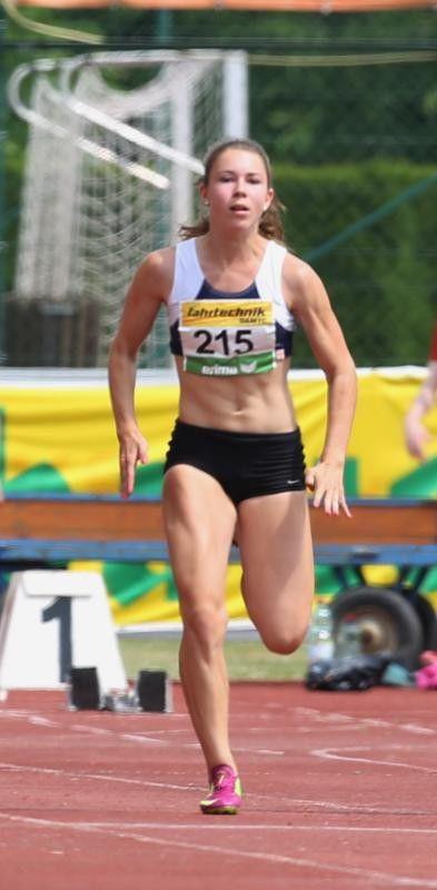 Isabel Posch ist die schnellste Vorarlbergerin.