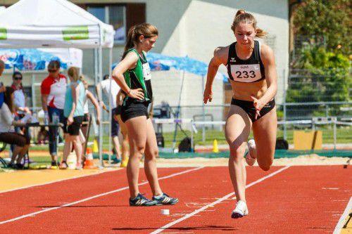 Isabel Posch ist im 100-m-Sprint die Favoritin.