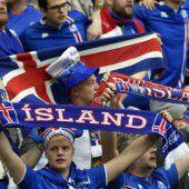 Islands Wikinger als Team mit großem Herz