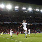 Kleines Island ärgert Fußballmacht
