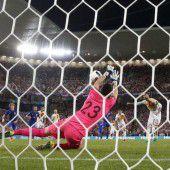 Eiskalte Kroaten schlagen Spanien