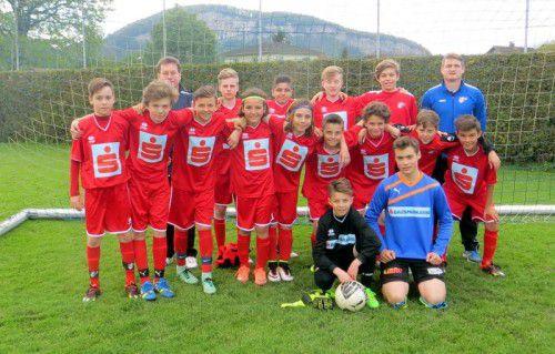 Landesmeister PG Mehrerau musste sich bei beim Bundesfinale der Schülerliga mit Platz acht begnügen.