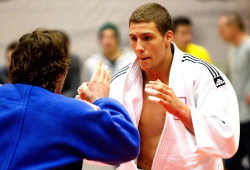 Laurin Böhler ist beim Weltcup in Budapest im Einsatz.