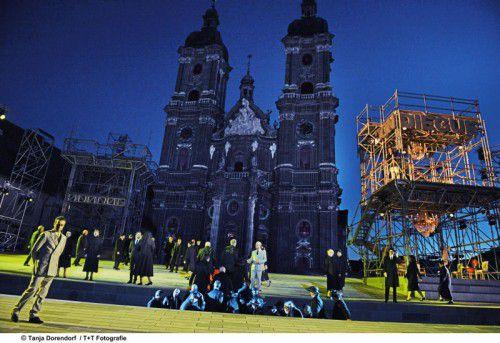 """""""Le Cid"""" wird im Klosterhof in St. Gallen aufgeführt."""