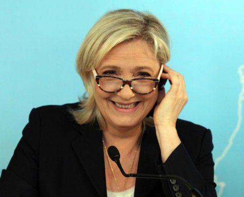 Marine Le Pen zeigte sich erfreut über das britische Votum.