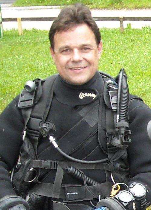 Markus Staudacher ist als Rettungstaucher bei Einsätzen im Wasser buchstäblich in seinem Element.