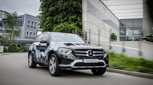 Mercedes GLC F-Cell Plug-in: Der aufladbare Brennstoffzeller soll 2017 startklar sein.