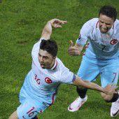 2:0 wird für die Türkei zur Zitterpartie