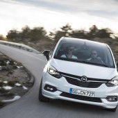 Opel verpasst dem Zafira ein Facelift