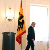 Präsident Gauck verzichtet auf zweite Amtszeit