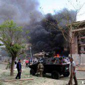 Vier Tote bei Anschlag im Südosten der Türkei
