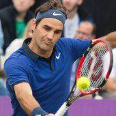 Federer bringt Gerüchte zum Verstummen