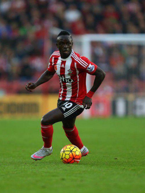 Sadio Mane steht vor einem Wechsel zum FC Liverpool.