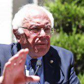 Sanders wird Konkurrentin Clinton wählen