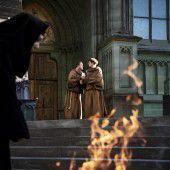 Angst herrscht in der Abtei
