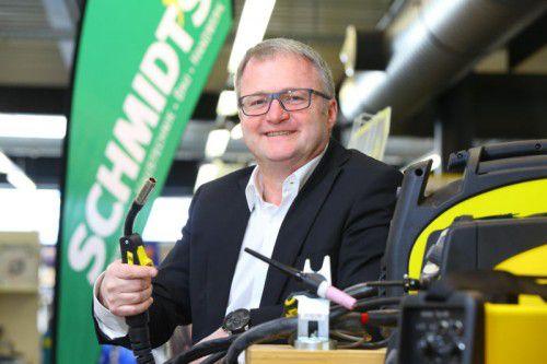 Schmidt's-Geschäftsführer Thomas Fritz ist an Beteiligungen interessiert.VN/Hb