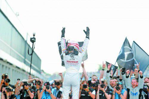 Sieger in der Lausitz, jetzt will der Tiroler Lucas Auer auch auf dem Norisring feiern.