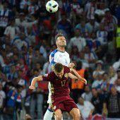 Slowakei mit 2:1-Sieg über Russland auf Kurs