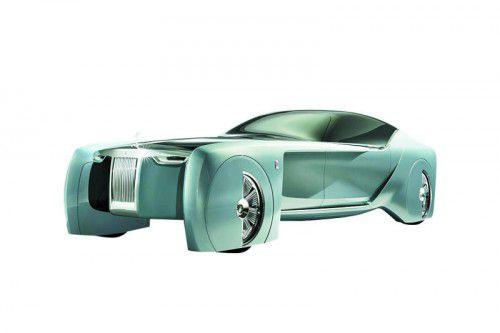 So könnte ein Rolls-Royce im Jahr 2040 aussehen: Studie Rolls-Royce Next 100 gibt einen Ausblick in die Zukunft der Marke.