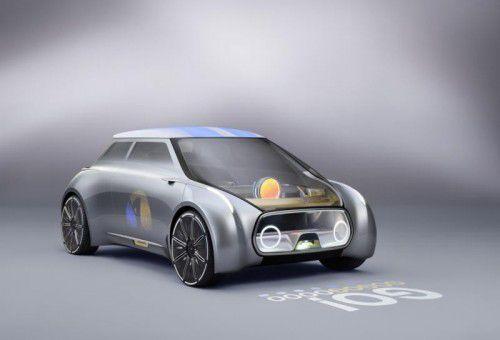 So sieht der Mini von morgen oder besser von übermorgen aus: Mini Vision Next 100.