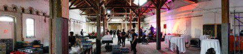 Spektakulär: Die Eilguthalle wird nach dem Umbau Oldtimern und bis zu 400 Gästen Platz bieten.