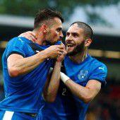 Ein historischer Treffer für den Kosovo