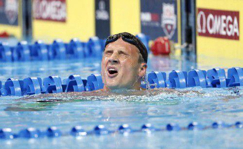 Verpasst die Sommerspiele in Rio: Ryan Lochte.