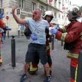 Russische Hooligans spurlos verschwunden