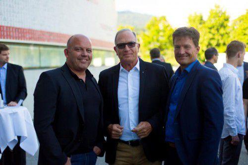V.l.: Lukas Konzett, Peter Marte und Heinz Huber.